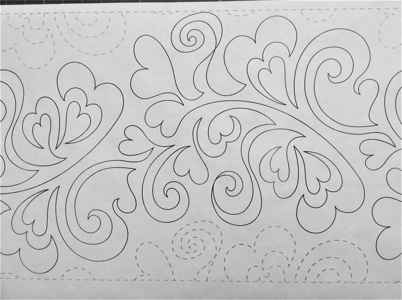 Heart Swirls 12 inches